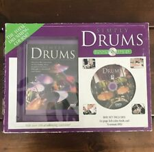 Simply Drums The Total Drumming Course Book and Dvd Kit - Open box, No Book