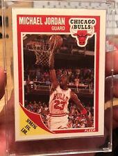 MJ 89-90 Fleer MICHAEL JORDAN #21 NM/MT Chicago Bulls