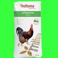 Premium Bio Geflügelkörner 25kg Bio Hühnerfutter Wachtelfutter Legewachtelfutter
