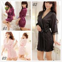 Women's Clothing sexy Intimates Night-robe Underwear Sleepwear Robes