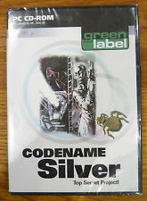 Codename Silver - Top Secret Project (PC GAME)  New & Sealed - Retro Game