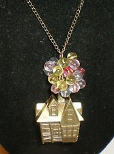 Disney Pixar UP Carl And Ellie's House Necklace with Balloons