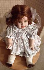 "World Gallery Porcelain & Cloth Doll ""Christina""~ Beverly Parker 1993~#812/2000"