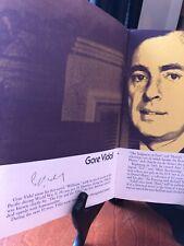 More details for gore vidal jimmy breslin shirley ann grau three autographs authors 1973