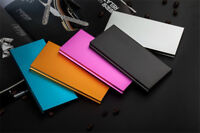 Portable Slim 100,000mAh Power bank External 2 USB Universal Battery Charger