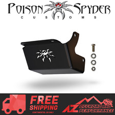 Poison Spyder Steering Box Skid Plate Black For 2003-2006 Jeep Wrangler TJ LJ