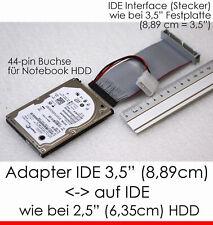 "KABEL ADAPTER FOR 2,5"" IDE NOTEBOOK HARD DISC FEMALE--> 3,5"" IDE CONTROLLER MALE"