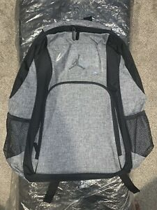New Air Jordan Laptop Backpack Lt Graphite/Black Includes 15 Inch Laptop Sleeve