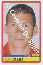 N°041 PEDRO ZABALA # BOLIVIA STICKER PANINI COPA AMERICA VENEZUELA 2007