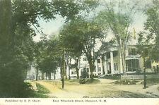 Hanover,NH. Homes along East Wheelock Street