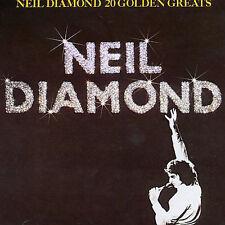 Neil Diamond: 20 Golden Greats CD (More CDs and Neil Diamond in my eBay Store)
