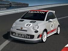 FIAT 500 ABARTH FRONT LIP SPOILER-NEW, US MODEL