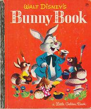 "Walt Disney's Bunny Book, Little Golden Book, 1951, ""C"" Edition, 29 cents"