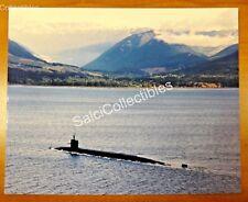 Us Navy Attack Submarine Ship Photo 8x10 Ssn-729 Uss Georgia Feb 2000 Olympic Mt