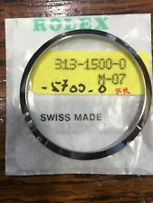 Original Rolex Date 1500 Air King 5700 Steel Bezel - Ghiera Originale Acciaio