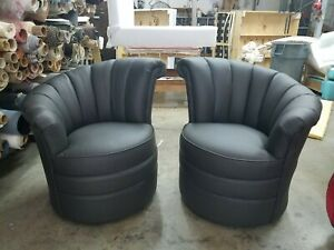 Leather Art Deco Antique Chairs For Sale Ebay