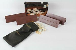 Vintage Miniature Rummikub 1981 Pressman Travel Size Game 106 Tiles Bag & Racks