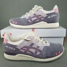 Asics x END Gel-Lyte III OG Athletic Shoes Mens Size 8.5 Running Gray Pink