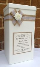 Vintage Wedding Card Post Box, Wedding Favours, Wedding Gifts, Wishing Well