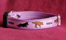"Designer Kelpie Dog Collar 20mm / 4/5"""