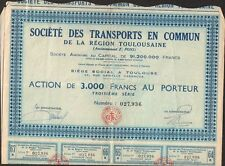 TRANSPORT EN COMMUN DE LA RÉGION TOULOUSAINE (TOULOUSE 31) (S)