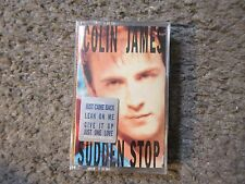"COLIN JAMES ""SUDDEN STOP"" 1990 STILL SEALED/BRAND NEW OOP CASSETTE RARE!"