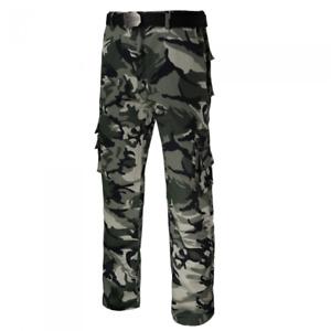 Arbeitshose Sicherheitshose Feldhose Försterhose Tarnhose Camouflage Gr. 44 - 64