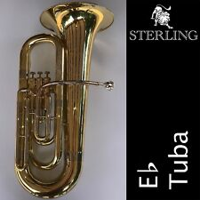Eb TUBA • Top Quality Sterling SWTB-239 Eb Tuba • Brand New • With Case •