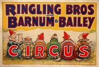 Circus, Clown, Side Shows, Posters, vintage photo reproduction High quality, 132