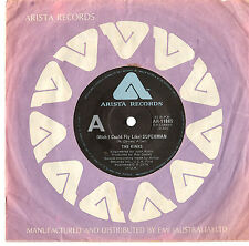 "THE KINKS - (WISH I COULD FLY LIKE) SUPERMAN - RARE 7"" 45 VINYL RECORD 1979"