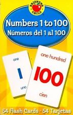 Child Flash Cards Kids Learning Brighter Educational Numbers 1 to 100 Toddler