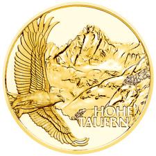 Österreich 50 Euro 2020 Am höchsten Gipfel Naturschatz Alpen (1.) 1/4 Oz Gold PP
