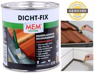 DICHT FIX Sealfix 375ml Waterproof Sealer Paint On Leak Prevention Roof Sealant