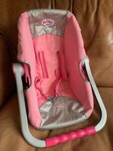 zapf creation baby born car seat