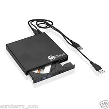 Externes external USB 2.0 CD-RW DVD RW Brenner Writer Laufwerk - super schmal!