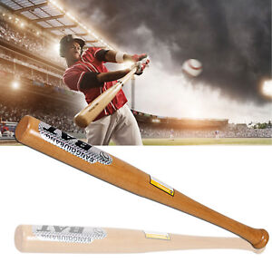 """Heavy Duty Wooden Baseball Rounders with or without Softball Bat size 32"""""""