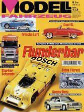 Zeitschrift Modell Fahrzeug 3 2004 Kreidler Florett 645 CSi Audi A4 A6 CLK DTM