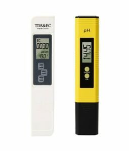 Digital PH Meter and TDS Meter Water Quality Tester Auto Calibration Aquarium
