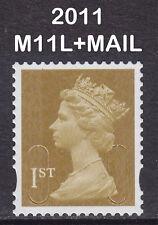 2011 Machin 1st Class Gold SG U2996 M11L+MAIL Very Fine Used VFU Stamp