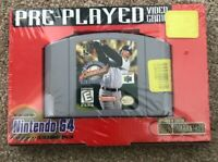 Major League Baseball Featuring Ken Griffey Jr. (Nintendo N64) Sealed Retro Case