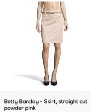 Betty Barclay-jupe, coupe droite poudre rose-UK 22-EU 48, RPR: £ 90
