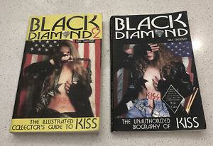 Kiss Black Diamond Books X 2