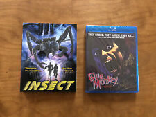 Blue Monkey Blu ray*Dark Force*Slipcover*Classic Horror*NEW/Sealed*