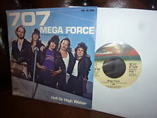 "707, Mega Force, Hell Or High Water, Soundtrack, bellaphon 100 16 004, 1982 7"""