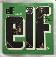 "Rare Autographed Ronnie James Dio Elf ""L.A./59"" Vinyl Original Pressing"