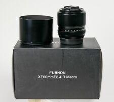 Fuji Fujinon XF Aspherical 60mm f/2.4 Super EBC lens, boxed as  NEW