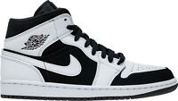 Air Jordan 1 Mid White/Black-White (554724 113)