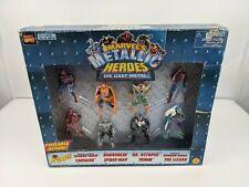 Marvel Heavy Metal Heroes 8 Die Cast Metal Action Figures Toy Biz SpiderMan
