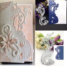 BA_ Lace Border Metal Cutting Dies Scrapbooking Embossing Craft Wedding Decor