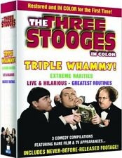 THREE STOOGES TRIPLE WHAMMY 3-DVD SET